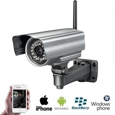 Dagaanbieding - Draadloze WIFI Outdoor IP Camera dagelijkse koopjes
