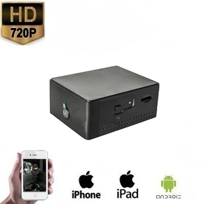 WIFI Spy Camera Black Box HD 160 Graden
